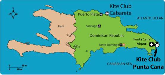 Punta Cana Location On World Map.Getting Here Kiteclub Punta Cana